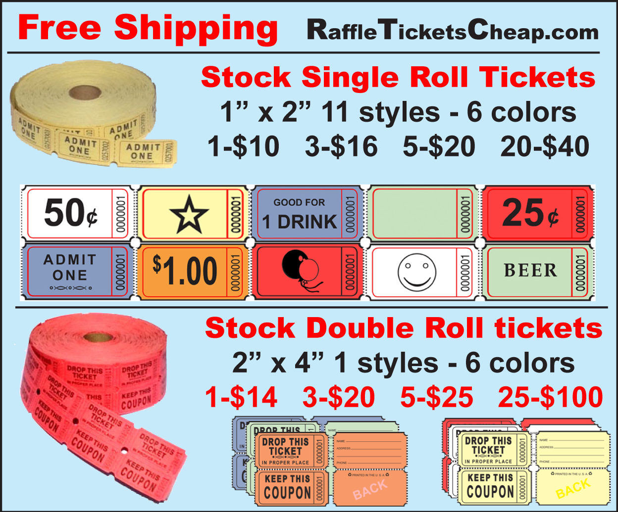 raffle tickets cincinnati printing copy a to z discount